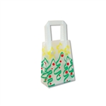 Frosted Petite Reusable Trees and Stars Bags