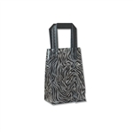 Frosted Petite Reusable Zebra Bags