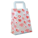 Frosted Petite Reusable Sweet Hearts Bags