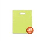 Frosted Merchandise Lime Green Bags 9 x 12