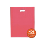 "Frosted Merchandise Red Bags 12"" x 15"""
