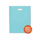 "Frosted Merchandise Turquoise Bags 12"" x 15"""