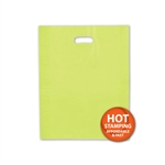 "Frosted Merchandise Lime Green Bags 12"" x 15"""