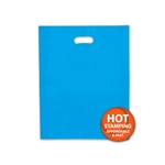 "Frosted Merchandise Blue Bags 12"" x 15"""