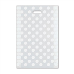 "Frosted Merchandise Dots Bags 14"" x 3"" x 21"""