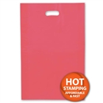 "Frosted Merchandise Red Bags 14"" x 3"" x 21"""