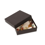 "Black Embossed Boxes - 3-1/2"" x 3-1/2"" x 1"""