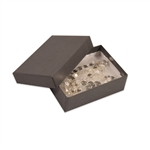 "Gray Kraft Jewellery Boxes - 3"" x 2-1/8"" x 1"""