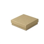 "Kraft Jewellery Boxes - 4"" x 4"" x 1"""