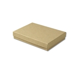 "Kraft Jewellery Boxes - 5-7/16"" x 3-1/2"" x 1"""
