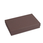 "Brown Kraft Jewellery Boxes - 5-7/16"" x 3-1/2"" x 1"""