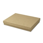 "Kraft Jewellery Boxes - 7"" x 5"" x 1-1/4"""