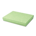 "Light Green Kraft Jewellery Boxes - 7"" x 5"" x 1-1/4"" 100 Boxes/Pack"