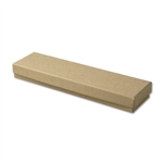 "Kraft Jewellery Boxes - 8"" x 2"" x 7/8"""