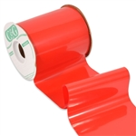 Red Outdoor Ribbon - Plastic Shine