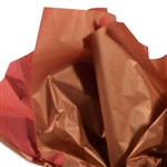 Metallic Gold and Scarlet Red Tissue Paper