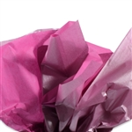 Metallic Silver and Hot Pink Tissue Paper