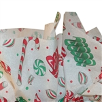 "Holiday Sweets Pattern Tissue Paper 20"" x 30"" Sheets - 240 / Pack"