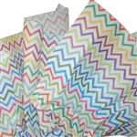 Zig Zag Stripes Printed Tissue Paper