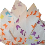 Butterfly Chain Patterned Tissue Paper