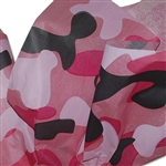 "Pink Camo Pattern Tissue Paper 20"" x 30"" Sheets - 240 / Pack"