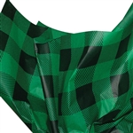 Green Lumberjack Plaid Patterned Tissue Paper