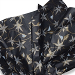 Jasmine Black Patterned Tissue Paper