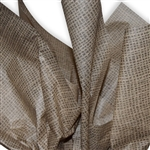 Burlap Patterned Tissue Paper