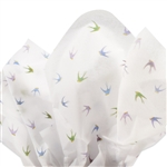 Bird Design Printed Tissue Paper