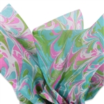 Sensation Patterned Tissue Paper
