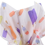 Summer Freeze Popsicle Patterned Tissue Paper
