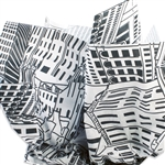 Downtown Patterned Tissue Paper