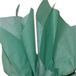 Mini Green & White Gingham Tissue Paper