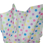 Bright Dots Tissue Paper