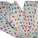 Primary Dots Tissue Paper