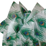 Peacock Feathers Patterned Tissue Paper