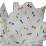 Chef's Cupboard Patterned Tissue Paper