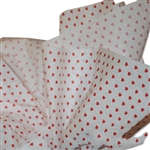 Little Red Hearts Tissue Paper