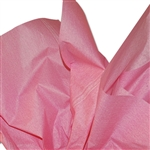 Pink Denim Patterned Tissue Paper