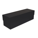 Wine Rigid Set Up Boxes in Black Embossed