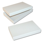Stationers white set up boxes