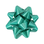 Stick-On Star Bows Emerald