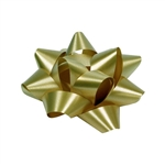 Stick-On Star Bows Gold