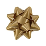 Stick-On Star Bows Holiday Gold