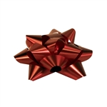 Stick-On Star Bows Red