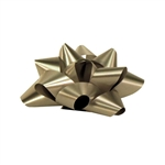 Stick-On Star Bows Silver
