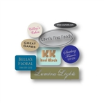 Canadian Custom Hot Stamped Labels-Small Shapes