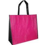 "Non-Woven Trim Bags - 16"" x 14"" x 6"" - Pink 100 Bags/Case"