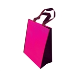 "Non-Woven Trim Bags - 9"" x 12"" x 5"" - Pink 100 Bags/Case"