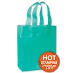 Frosted Petite Teal Bags